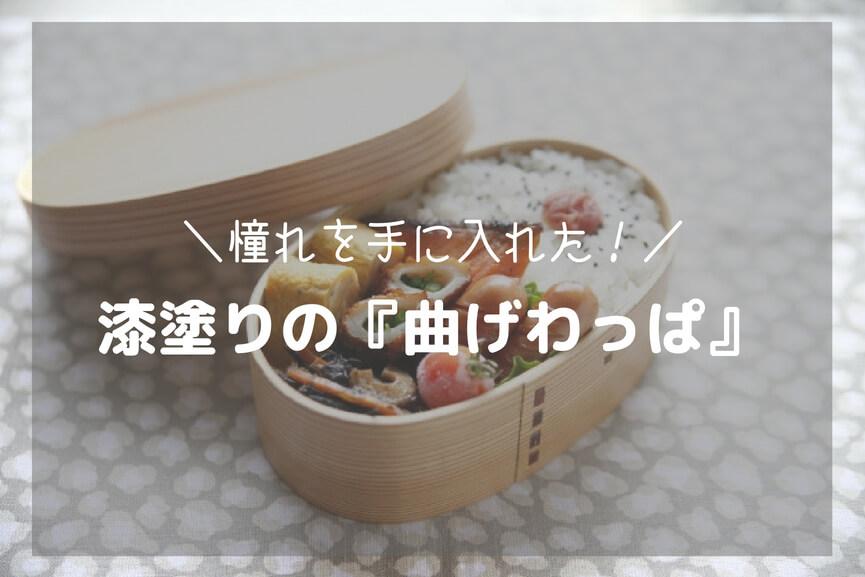 国内漆塗りの曲げわっぱ(500ml)の使い心地をレビュー!-アイキャッチ