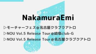 NakamuraEmiのライブ&フェス3公演の感想|2018年 冬~夏-アイキャッチ